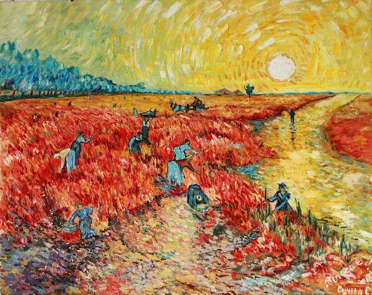 живопись алла прима, худоник В. Ван Гог | Краска, Винсент ...