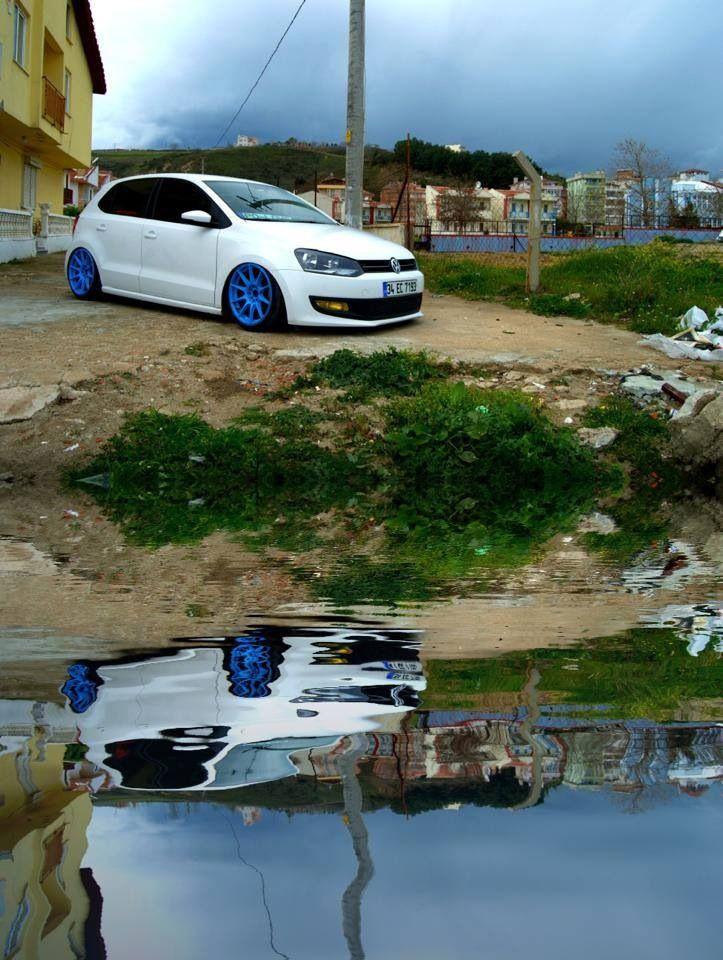 VW Polo blue
