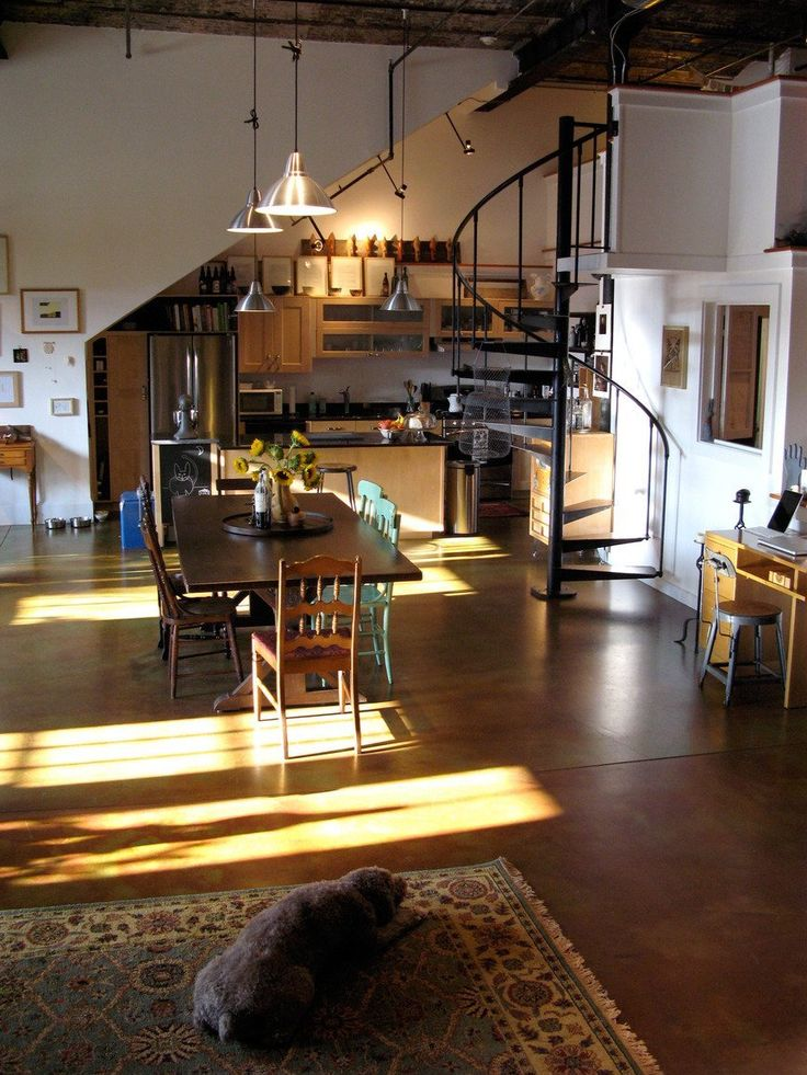 17 Best Ideas About Loft House On Pinterest Industrial