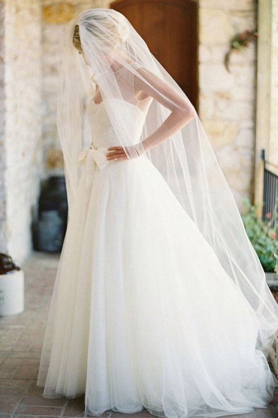 25 Best Ideas About Cathedral Wedding Veils On Pinterest