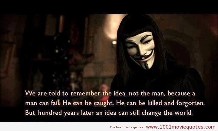V for Vendetta (2005) - movie quote