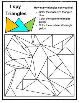Classifying Triangles Pack