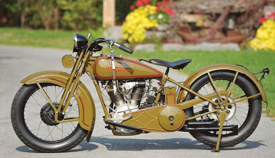 The Stuff of Legends: The 1929 Harley-Davidson JDH - Classic American Motorcycles - Motorcycle Classics