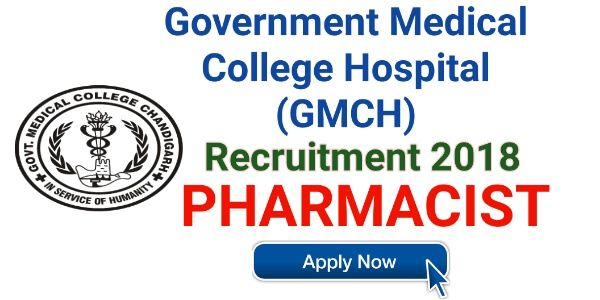 Pharmacist Job At Gmch Government Medical College Hospital