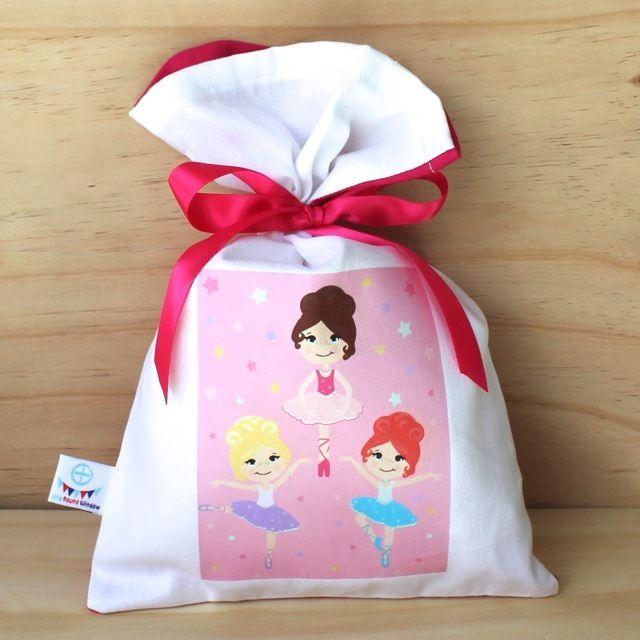 Ballerina Cotton Party Bag