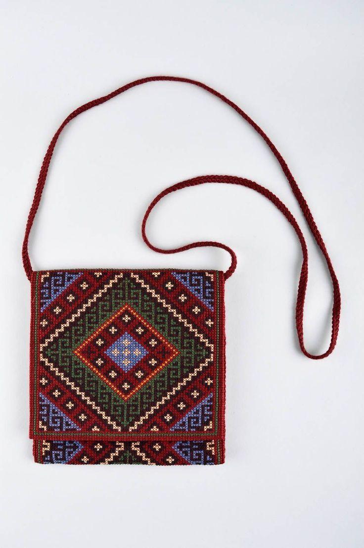 Handmade Stoff Umhängetasche Damen Accessoire kleine Umhängetasche kreuzgestic in Kleidung & Accessoires, Damentaschen | eBay