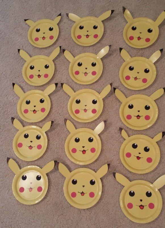15 - Pokemon Pikachu Birthday Decorations #Handmade #BirthdayChild
