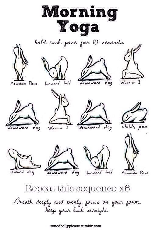 Fast Morning Yoga #Health #Fitness #Trusper #Tip