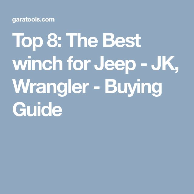 20 best Reviews Of The Best Atv Winches images on Pinterest | Atv ...