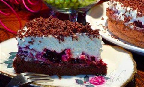 Obrázek z Recept - Čokoládový dort bez mouky jako peříčko