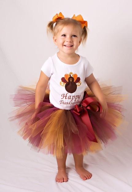 Thanksgiving Tutu and Shirt Outfit