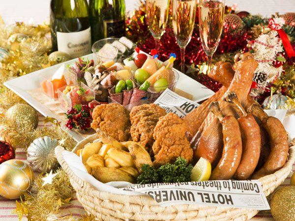 お部屋でクリスマスパーティ!Partyメニューとスパークリングワインをデリバリー☆(2014/11/14~12/25)