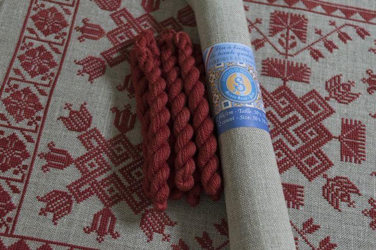 Сучки и цветы - скандинавский крест стежка диаграммы, современная Народная вышивка вдохновленные шведской вышивки