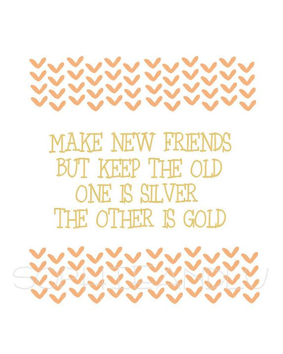 Moving Away Gift For Friend Printable Friendship Quote And Greeting Card Best Friends Forever