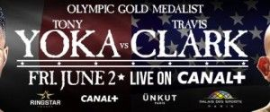2016 Olympic Gold Medalist Tony Yoka Makes Pro Debut Against Unbeaten Travis Clark on Friday, June 2 in France