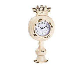 Orologio da tavolo in metallo King - 10x22x6 cm