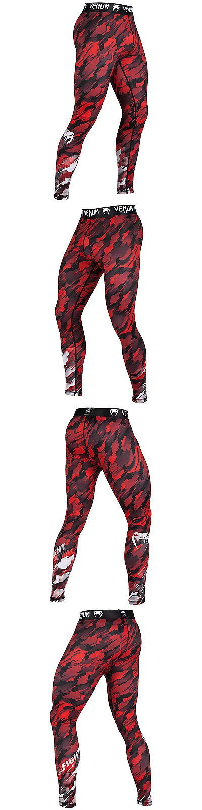 Pants 179772: Compression Pants Venum Tecmo - Red White Spats Mma Bjj Fitness -> BUY IT NOW ONLY: $57.81 on eBay!