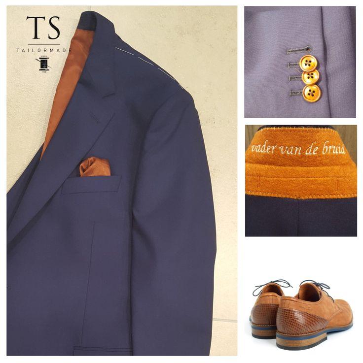 Jouw pak, op jouw manier! Alle opties staan open voor een schitterend kostuum op maat... Speksnijder Tailormade.
