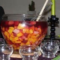Vruchtenbowl zonder alcohol