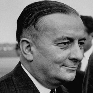 Georges Bidault : 27/10/1949 succède à la chute gouvernement Henri Queuille (6/10)