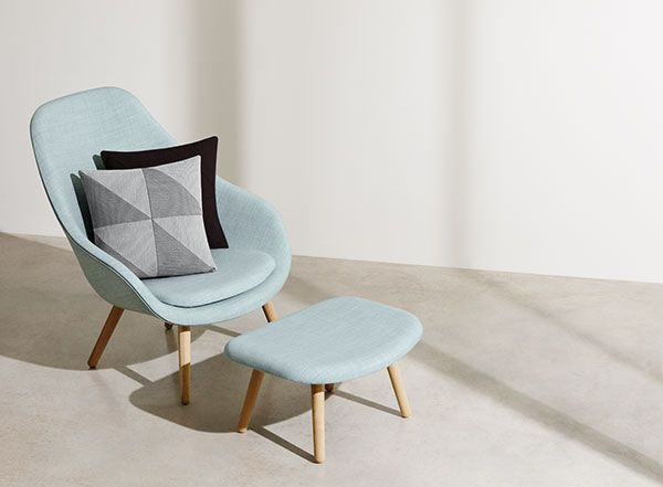 Light celeste armchair. COS x HAY