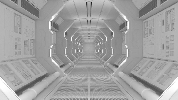 Create a Spaceship Corridor | Blender: Projects ...