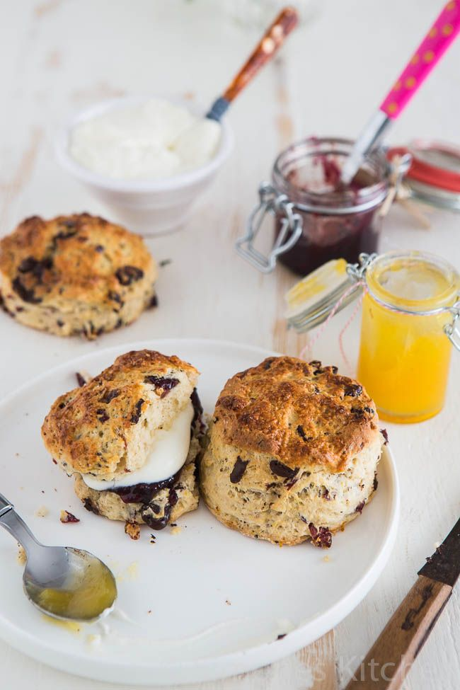 Orange chocolate scones from The Farmhouse Cookbook | Simone's KitchenSimone's Kitchen