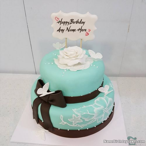 Happy Birthday Cakes For Girls: Beautiful Girls Birthday Cake Images With Name