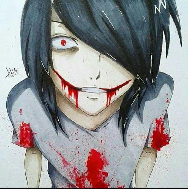 Jeff the Killer ... h a n d s o m e