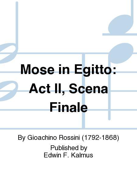 Mose in Egitto: Act II, Scena Finale