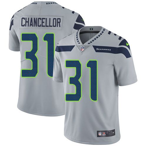 9058909ff ... Jerseys Eli Manning jersey Nike Seahawks 31 Kam Chancellor Grey  Alternate Mens Stitched NFL Vapor Untouchable Mens NFL Seattle ...