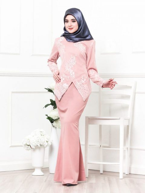 Kebaya lace raya 2017 LovelySuri  http://www.lovelysuri.com/koleksi/kebaya-raya2017-serena-pink/