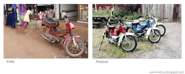 Old mopeds - Pappamopoja