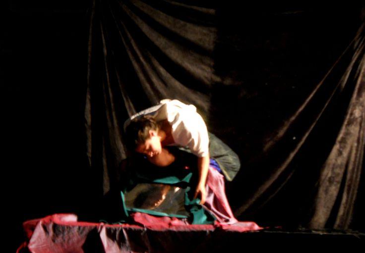 Museo Diocesano: un teatro per i capolavori di Caravaggio. Tablueax vivants Narciso.