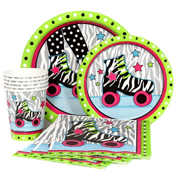 Retro Roller Skate Express Party Package for 8
