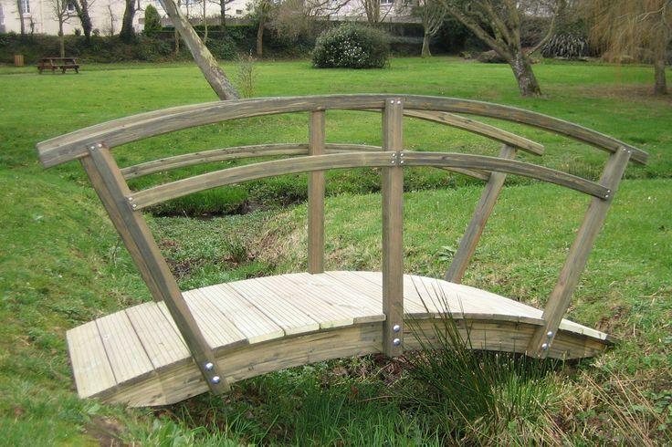 Petits ponts - Pont rambarde à 2 lisses | Tootan