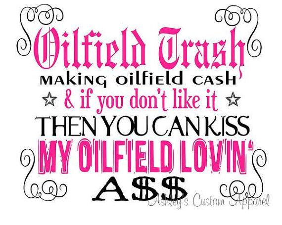 Hey, I found this really awesome Etsy listing at http://www.etsy.com/listing/152031420/oilfield-trash-making-oilfield-cash