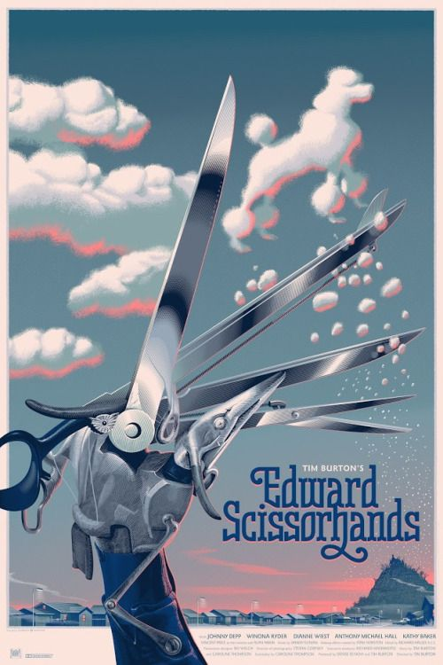Edward Scissorhands Poster - Laurent Durieux