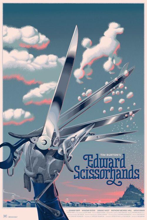 Edward Scissorhands Poster - Laurent Durieux