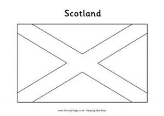 scotland flag coloring page - 1000 images about scotland scottish classroom ideas on