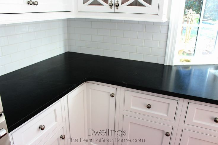 Soapstone kitchen counters