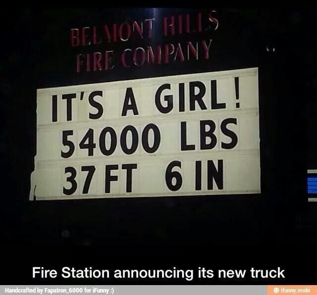 Firefighter Humor