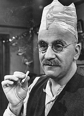 "Created by Johnny Speight in 1965 and played by actor Warren Mitchell, Alf Garnett was the lead character in the BBC TV sit-com ""Till Death Us Do Part"". He was reactionary, mean, selfish, bigoted, racist, homophobic, anti-everything (except The Queen and West Ham United). He was intended to be a satirical monster, everything to be despised in a person, but the viewing public loved him - they each knew someone down the street just like him !"