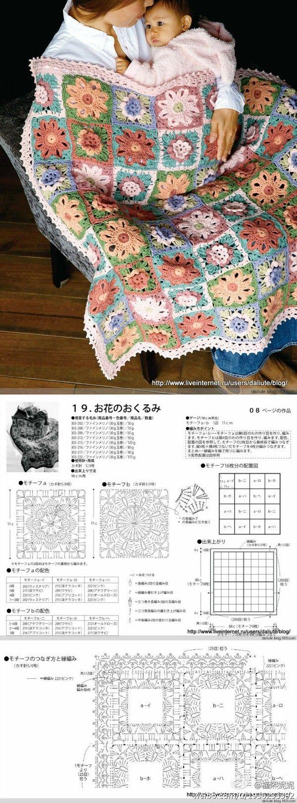 Crotchet Baby Blanket Pattern