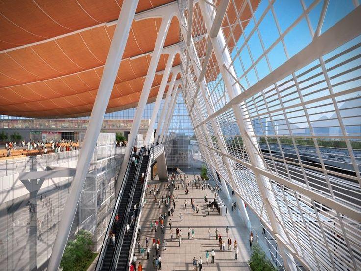 JO d'hiver 2022 : AREP à la conquête d'une gare à Pékin
