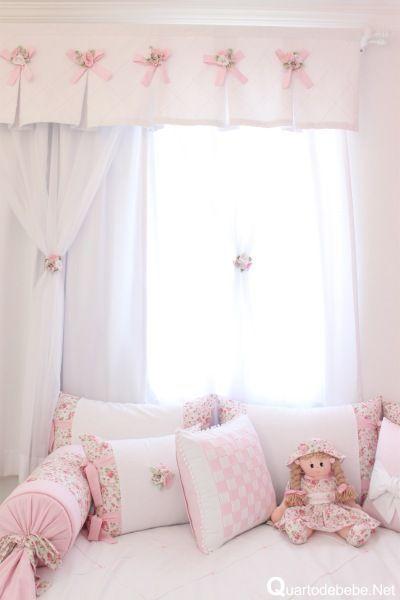 25 melhores ideias de cortina infantil no pinterest for Cortinas habitacion bebe