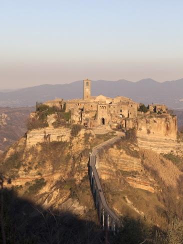 On the Border Between the Region of Lazio and Umbria is Civita Di Bagnoreggio, Italy