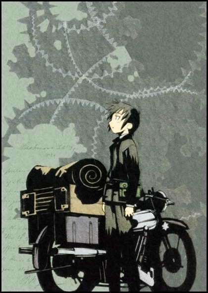 Kino's Journey - 8 / 10 (Great visuals, really interesting character development, not your typical anime).