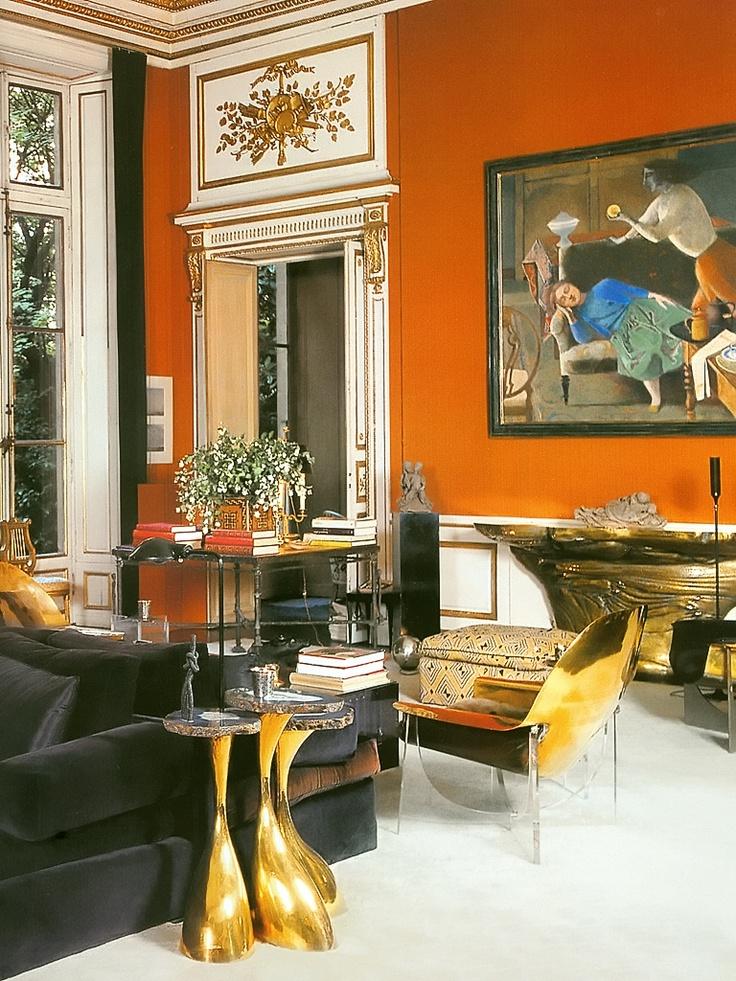 Living com poltrona em plexiglass - 25+ Best Ideas About Burnt Orange Rooms On Pinterest Burnt