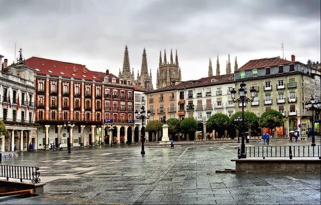 Plaça Major, Burgos,